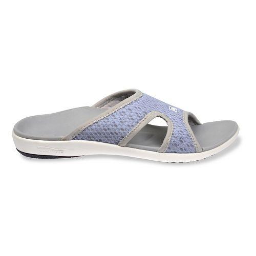 Womens Spenco Breeze Slide Sandals Shoe - Slate Blue 8