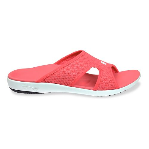 Womens Spenco Breeze Slide Sandals Shoe - Watermelon 10