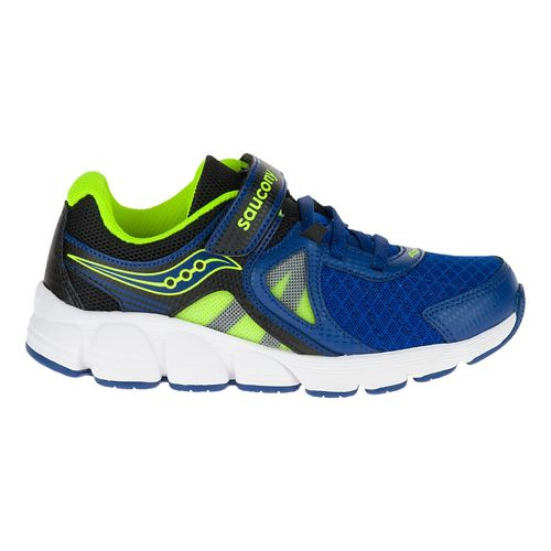 Kid Saucony Kotaro 3 A/C Running Shoe - Blue/Citron 6.5Y