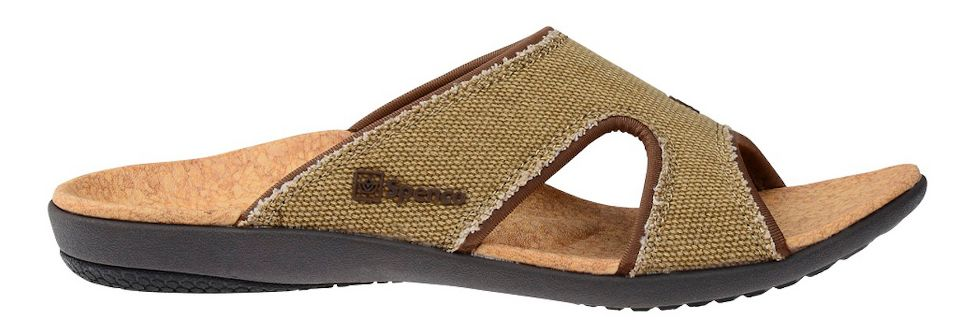 Spenco Kholo Canvas Slide Sandals
