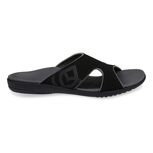 Womens Spenco Kholo Slide Sandals Shoe - Black 11