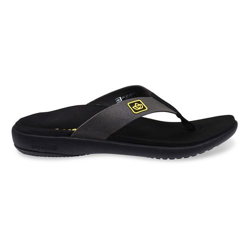 Womens Spenco Pure Sandals Shoe - Black 5