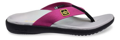 Womens Spenco Pure Sandals Shoe - Pink 6