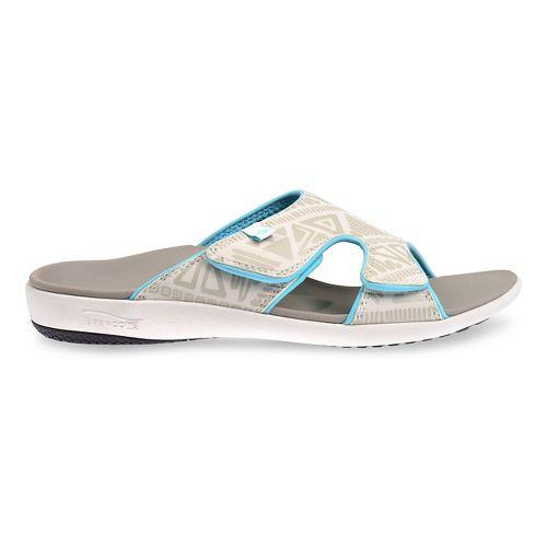 Womens Spenco Tribal Slide Sandals Shoe - Marshmallow 5