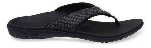 Womens Spenco Yumi Canvas Sandals Shoe - Black 11