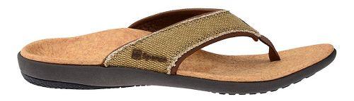 Womens Spenco Yumi Canvas Sandals Shoe - Beige/Cork 9