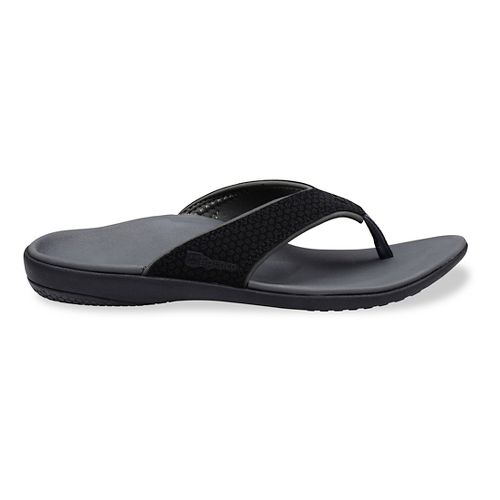 Womens Spenco Yumi Sandals Shoe - Black 10