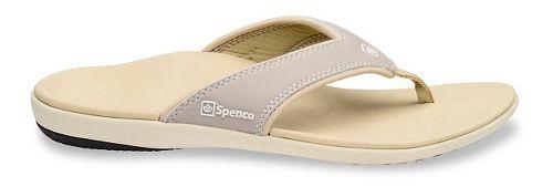 Womens Spenco Yumi Sandals Shoe - Stone 6