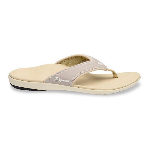 Womens Spenco Yumi Sandals Shoe - Stone 5