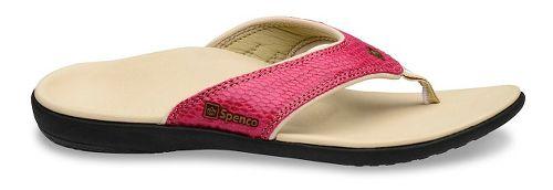 Womens Spenco Yumi Snake Sandals Shoe - Rose 10