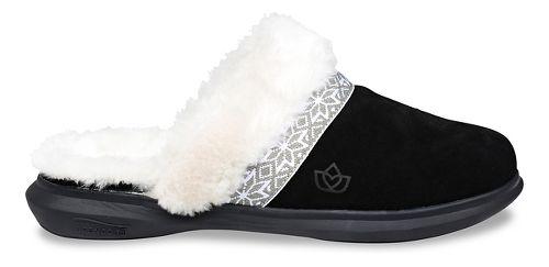Womens Spenco Nordic Slide Slipper Casual Shoe - Black 11