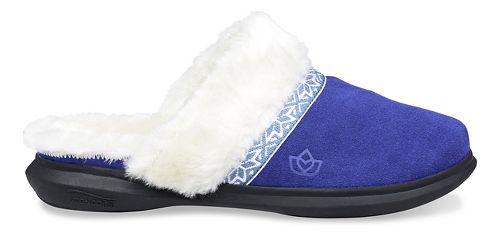 Womens Spenco Nordic Slide Slipper Casual Shoe - Navy 8