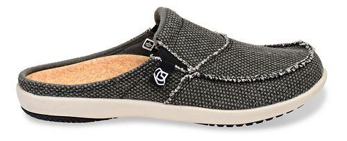 Womens Spenco Siesta Canvas Slide Casual Shoe - Charcoal 7