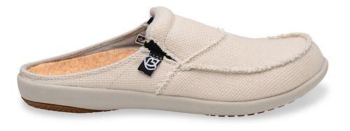 Womens Spenco Siesta Canvas Slide Casual Shoe - Off White 6