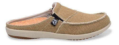 Womens Spenco Siesta Canvas Slide Casual Shoe - Tan 10