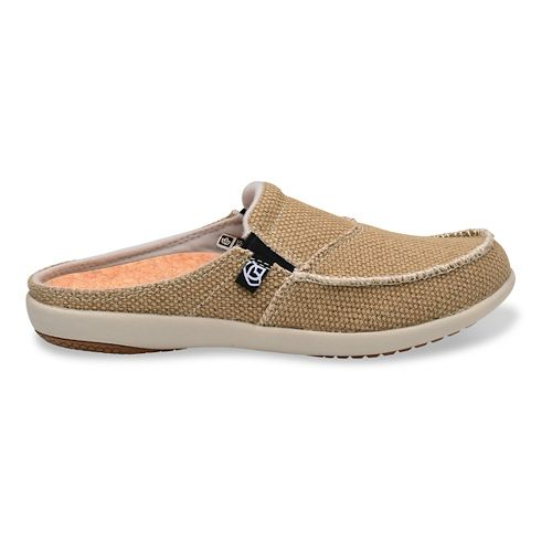 Womens Spenco Siesta Canvas Slide Casual Shoe - Tan 7
