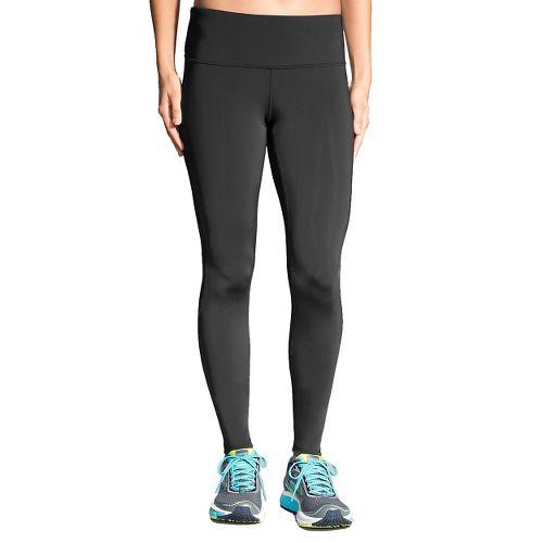 Womens Brooks Go-To Tights & Leggings Pants - Black L