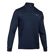 Mens Under Armour Fleece 1/4 Zip Long Sleeve Technical Tops
