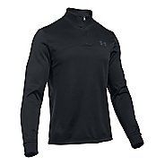Mens Under Armour Fleece Icon 1/4 Zip Long Sleeve Technical Tops
