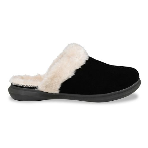 Womens Spenco Supreme Slipper Casual Shoe - Black 8