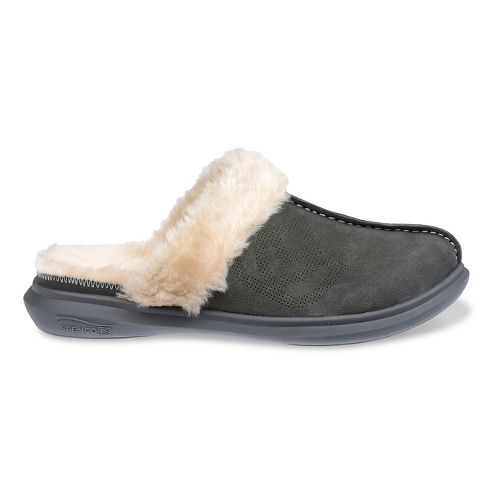 Womens Spenco Supreme Slipper Casual Shoe - Charcoal 8