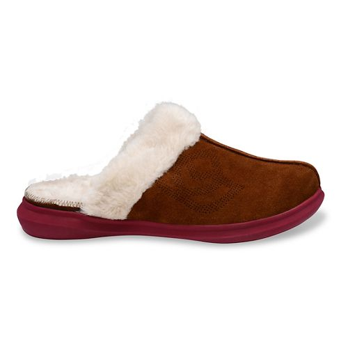 Womens Spenco Supreme Slipper Casual Shoe - Medium Brown 6