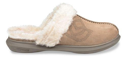 Womens Spenco Supreme Slipper Casual Shoe - Taupe 9