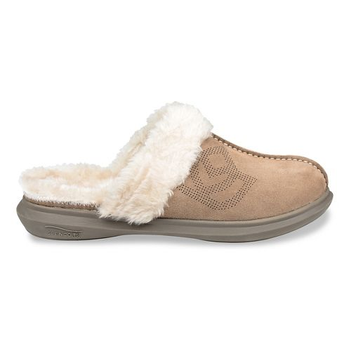 Womens Spenco Supreme Slipper Casual Shoe - Taupe 8