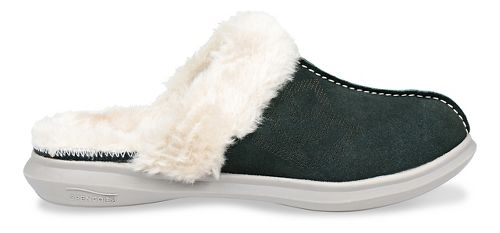 Womens Spenco Supreme Slipper Casual Shoe - Dark Green 8