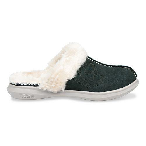 Womens Spenco Supreme Slipper Casual Shoe - Dark Green 11