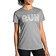 Womens Brooks Run Mist Tee Short Sleeve Technical Tops
