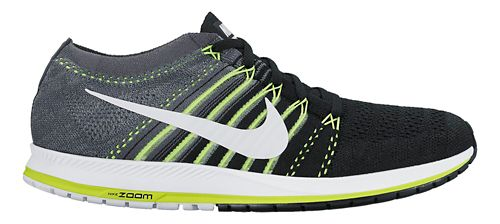 Nike Air Zoom Flyknit Streak Racing Shoe - Black/Grey 10
