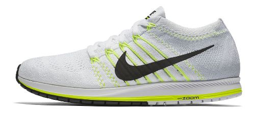 Nike Air Zoom Flyknit Streak Racing Shoe - White/Black 10