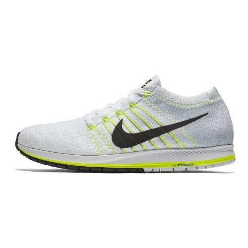 Nike Air Zoom Flyknit Streak Racing Shoe - White/Black 12.5