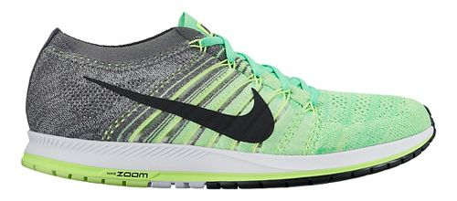 Nike Air Zoom Flyknit Streak Racing Shoe - Green/Grey 9.5