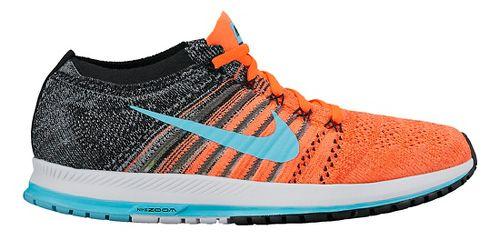 Nike Air Zoom Flyknit Streak Racing Shoe - Orange/Blue 12
