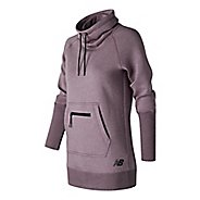 Womens New Balance Sport Style Tunic Long Sleeve Sweater Technical Tops