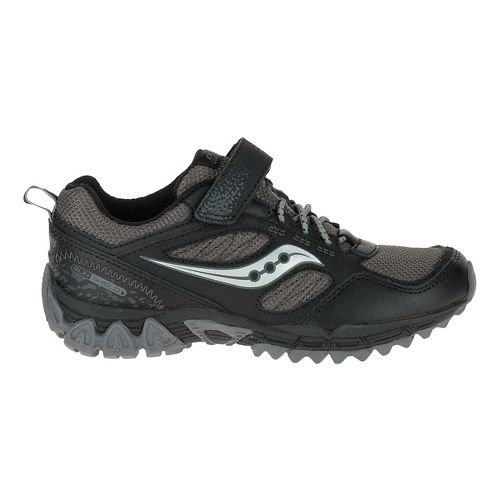 Kids Saucony Excursion Shield A/C Hiking Shoe - Black 3.5Y