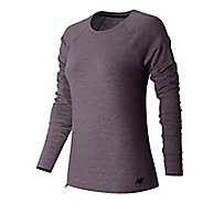 Womens New Balance Sport Style Shirt Long Sleeve Technical Tops