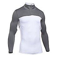Mens Under Armour ColdGear Armour Elements 1/4 Zip Long Sleeve Technical Tops