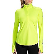 Womens Brooks Dash 1/2 Zip Long Sleeve Technical Tops