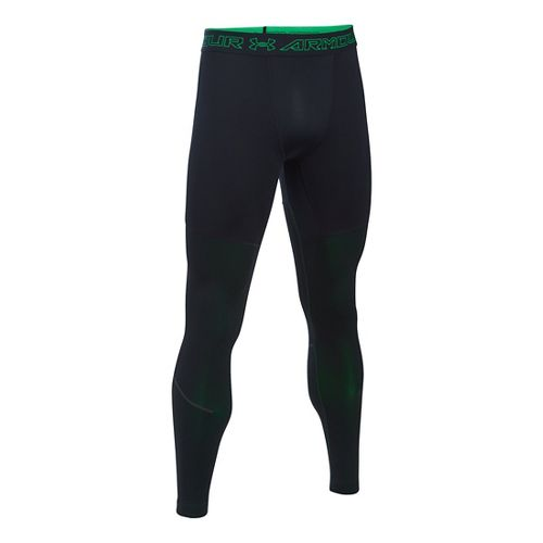 Mens Under Armour CGI Armour Elements Tights & Leggings Pants - Black/Northern Light L