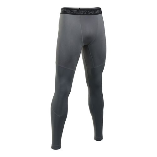 Mens Under Armour ColdGear Armour Elements Tights & Leggings Pants - Graphite/Black M