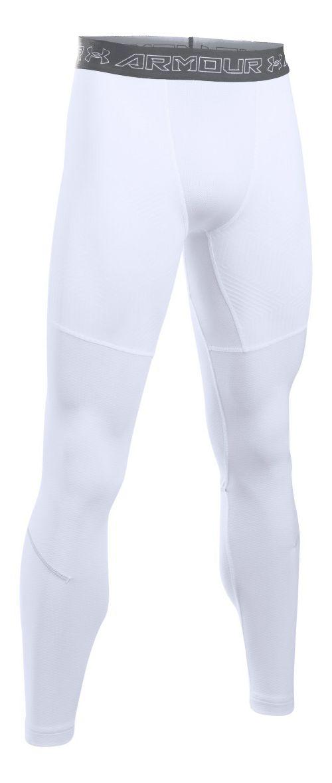 Mens Under Armour CGI Armour Elements Tights & Leggings Pants - White/Graphite M