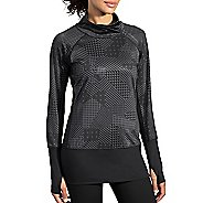 Womens Brooks Threshold Long Sleeve Technical Tops