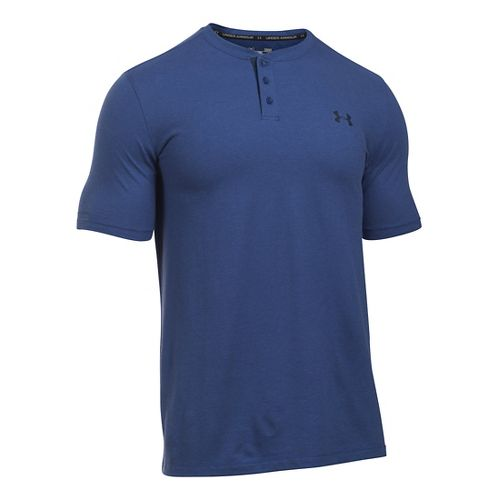 Men's Under Armour�Charged Cotton Short Sleeve Henley
