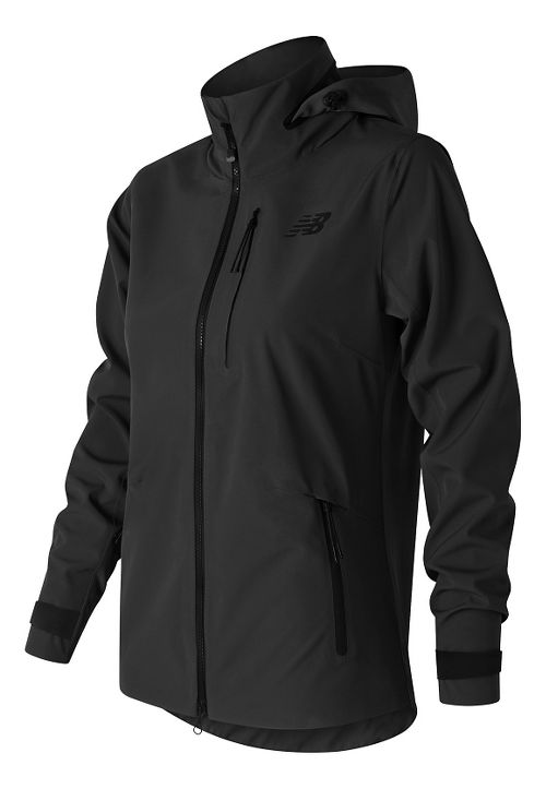Womens New Balance 3L Cold Weather Jackets - Black S