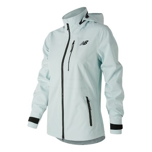 Womens New Balance 3L Cold Weather Jackets - Droplet S