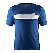 Mens Craft Escape Jersey Short Sleeve Technical Tops