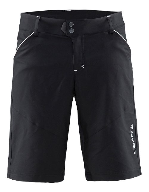 Mens Craft Escape Cycling Shorts - Black/White XXL